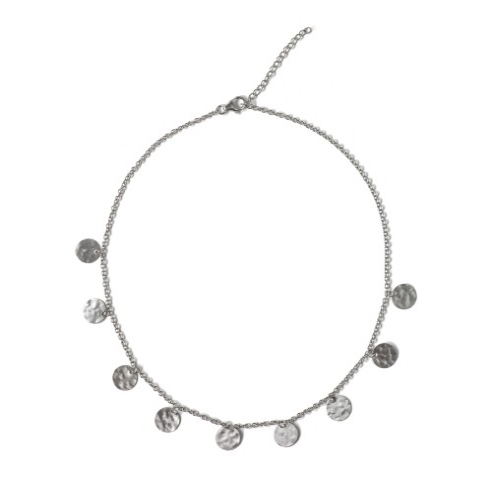 Kyklos, archaic influenced modern coin necklace fr...