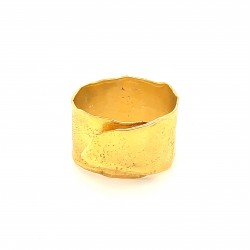 Ring, wrap, gold, melted