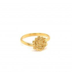 Ring mini Stefania open size, from sterling silver and diamond hit